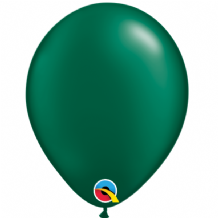 "Pearl Forest Green 5 inch Balloons - Qualatex 5"" Balloons 100pcs"